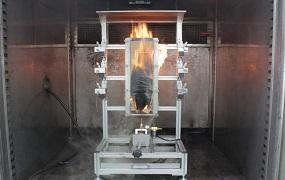 垂直燃烧测试