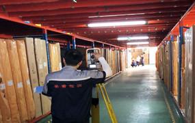 平台式货架检测