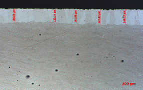 脱碳层深度检验